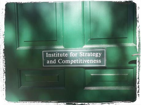 Tagebuch - Institue for Strategy and Competitiveness