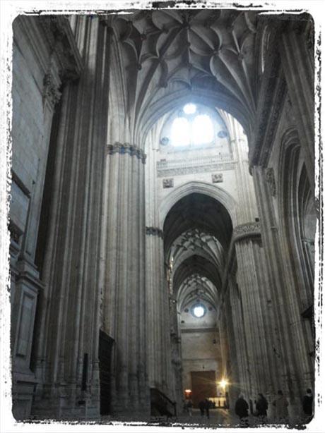 Tagebuch - Die Kathedrale von Salamanca - Innenansicht