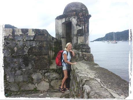 Tagebuch - altes Konquistadoren-Fort
