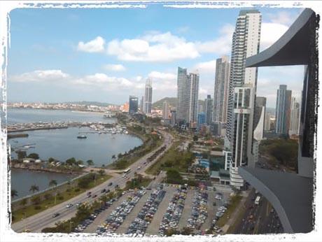 Tagebuch - Skyline von Panama City